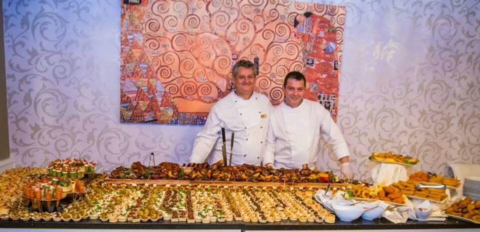 La Grande Vie Casino -  Vicenzo Liberti (Executive Chef) si Marian Georgescu ( Bucătar)