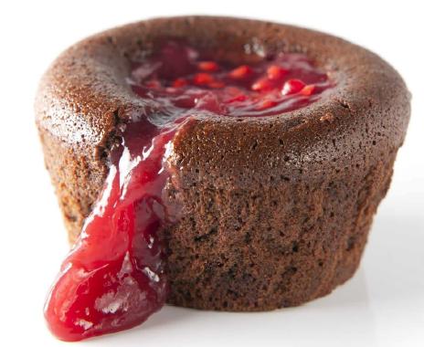 MXCHOFRBP2CC - Choco & raspberry lava cake