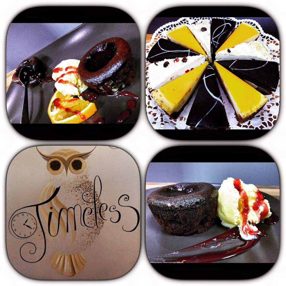 Timeless Cafe Constanța _ Cheesecake Bubble Mango, Tort Day&Night, Tort Lingonberry și Lava Cake Zmeura