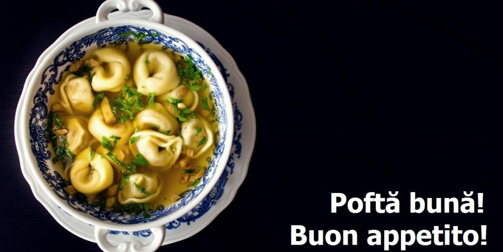 Tortelini cu supa de ghimbir 2